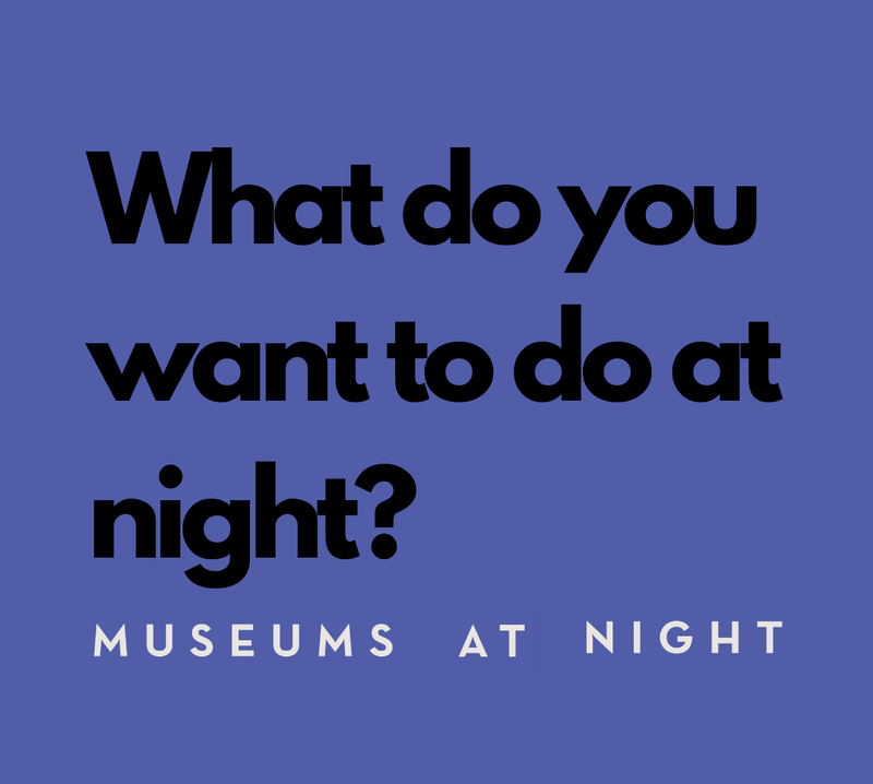 Museums at night Herefordshire lates