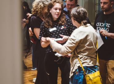 TEXT Toggle Actions Create/Fuel 2019 was a one-day event that set out to connect and support young creatives
