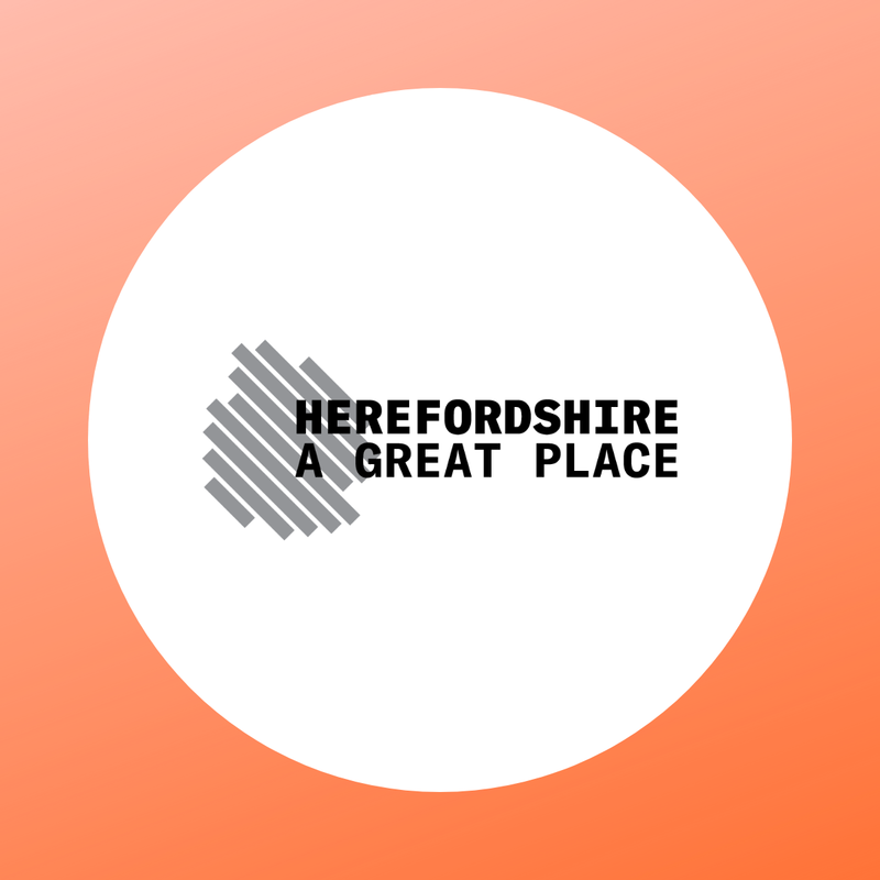Herefordshire's A Great Place logo
