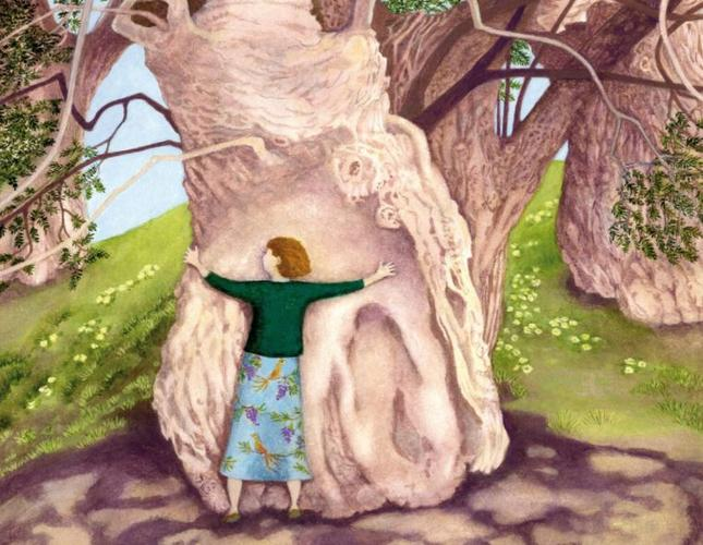 In Moments of Uncertainty, Hug a Tree. By Ellie Ling.